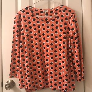 5/$25 Crown & Ivy long sleeve top NWOT size Large